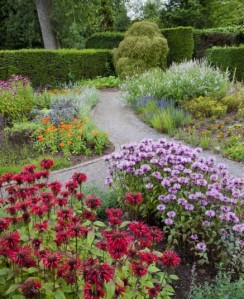 this time the Physic Garden; a traditional herb garden with medicinal plants. Picture: National Trust/Andrew Butler