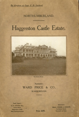 Illustrated Particulars of Sale with Plans and Conditions of Sale of the Valuable Freehold Sporting, Manorial, Residential Estate, known as Haggerston Castle, http://rectoversoblog.com/2009/12/18/in-consequence-of-the-demolition-of-haggerston-castle/