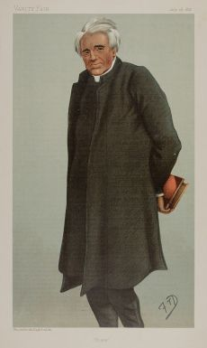 Dean Hole F T Dalton , from  Vanity Fair, 18 July 1895.