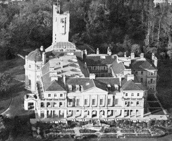 Haggerston Castle with its Italianate gardens