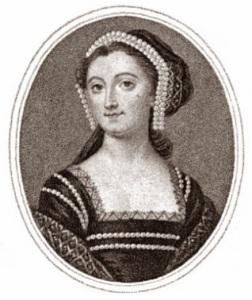 Elizabeth Montagu, te frontispiece of The-Letters of Mrs Elizabeth Montagu, 1810