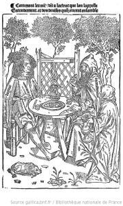 from Le Chevalier delibere by Olivier de la Marche Bibliotheque Nationale de France