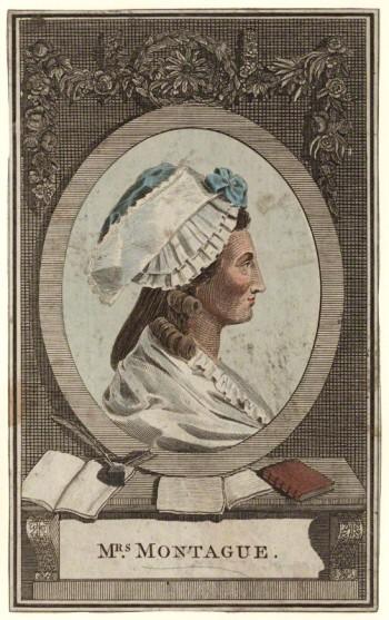 Elizabeth Montagu  by Wilson Lowry, 1787 © National Portrait Gallery, London