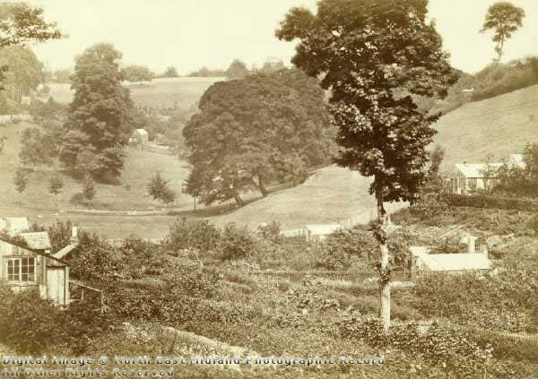 Hungerhill Gardens, St Ann's, c 1860's Nottingham City Council