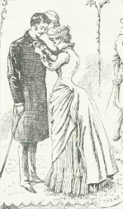 """There"" from A Summer Rose Show, Illustrated London News, 23rd June 1884"