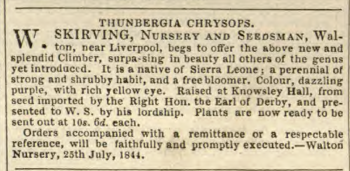 from Gardeners Chroincle  August 6th 1844