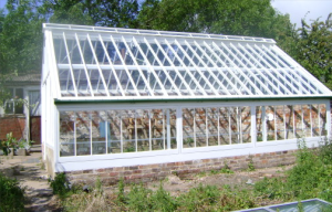 A restored Victorian glasshouse on St Anns Alotments http://www.staa-allotments.org.uk