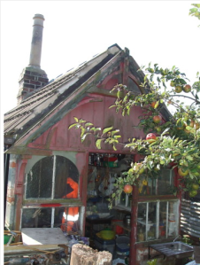 Original Victroian chimney and frontage http://www.staa-allotments.org.uk