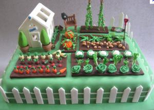 Birthday cake for a gardener http://www.cakecentral.com