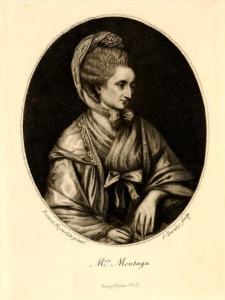 Fronitspiece to Vol.2 of The Queen of the Bluestockings
