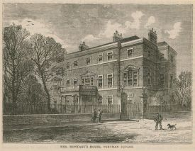 Mrs Montagu's House, Portman Square, London