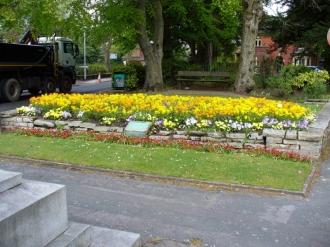 Capt Henry Harpur Memorial Garden, Alsager from https://www.warmemorialsonline.org.uk/node/139807