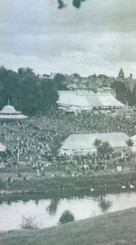Shrewsbury Flower Show, late 1940s, from Timothy O'SullivanPercy Thrower: A Biography