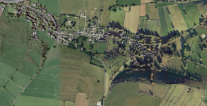 Taddington from Google Maps