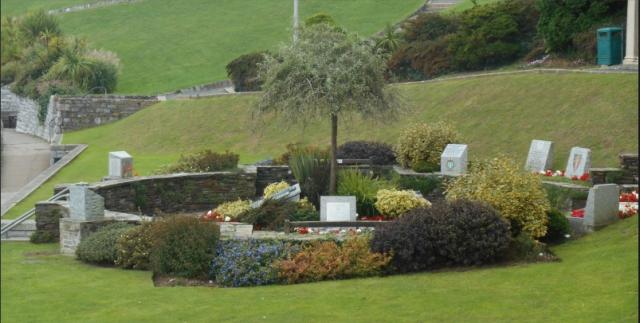 Belvedere Memorial Garden, Plymouth Hoe  https://www.warmemorialsonline.org.uk/node/152640