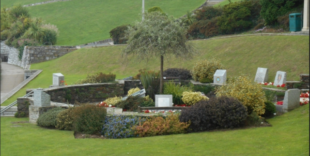 Belvedere Memorial Garden, Plymouth Hoe  https://www.warmemorialsonline.org.uk/node/152640