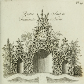from Thomas Wright's Grotesque architecture, or, Rural amusement, first published 1767
