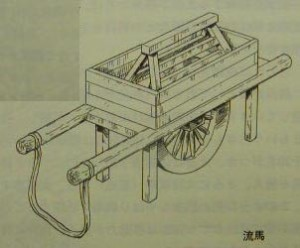 Late Han dynasty wheelbarrow usd for for disyribution of supplies http://www.chinahistoryforum.com/topic/2576-ancient-weaponry/