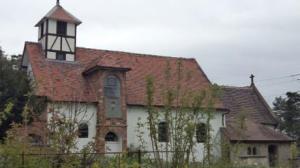 The church of St Bartholomew at Benthall Hall , National Trust