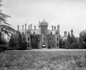 The entrance front of Redleaf House, 1897 © English Heritage.NMR Reference Number: BL12830/001