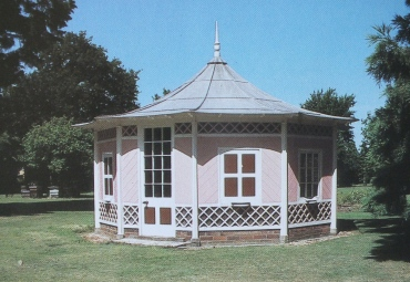 The bee house at Hall Place, Berks from Palaces for Pigs, Lucinda Lambton