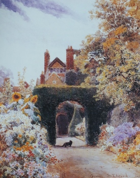Loseley Park, from George Samuel Elgood,, by Eve Eckstein