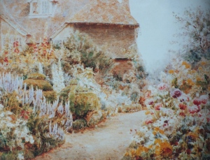 The Herbaceous Border at Knockwood, from George Samuel Elgood,, by Eve Eckstein