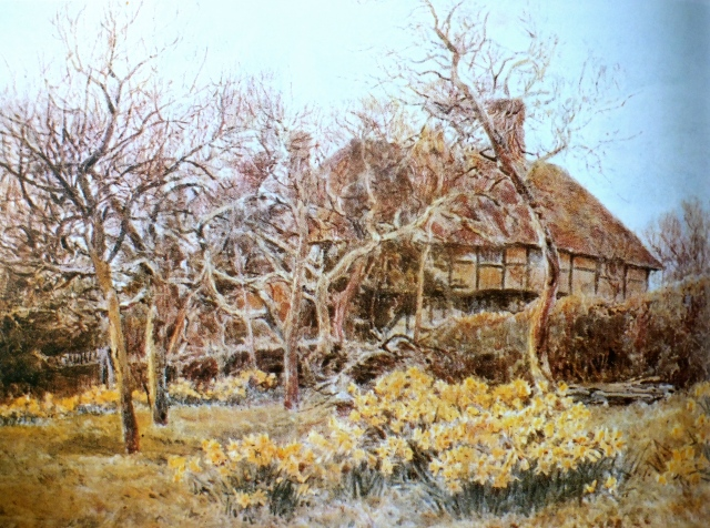 Spring in the Orchard at Knockwood, from George Samuel Elgood,, by Eve Eckstein