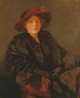Lady Dorothy D'Oyly Carte by Oswald Moser, Rye Art Gallery