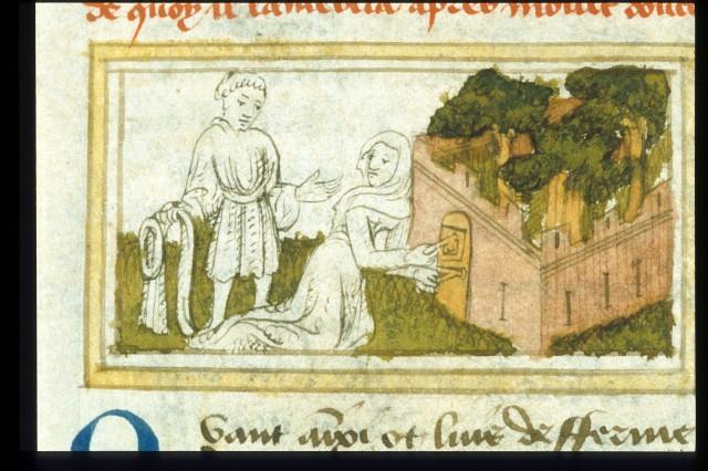 Egerton 1069 Guillaume de Lorris and Jean de Meung, Roman de la Rose France, Central (Paris); c. 1400Egerton 1069   f. 5v