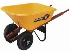 http://toolmonger.com/2007/06/27/hot-or-not-two-wheel-wheelbarrows/