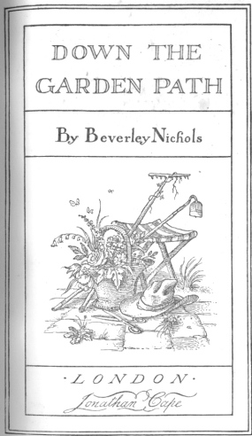 Titlepage illustration by Rex Whistler