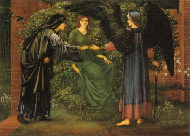 The Heart of the Rose, Edward Burne-Jones