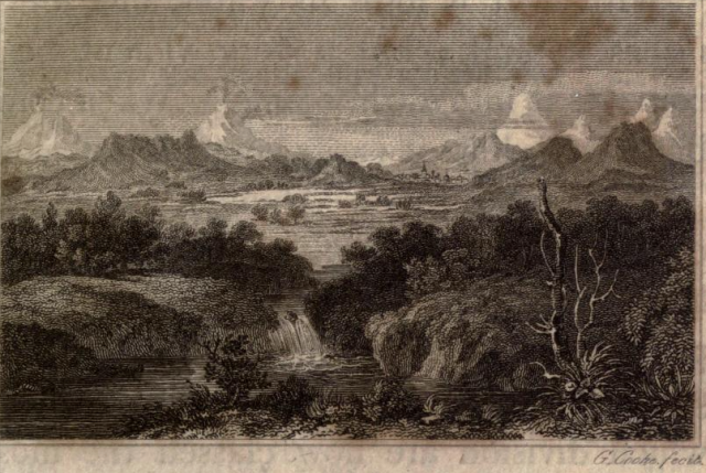 engraving by George Cooke from Petralogy, by John Pinkerton, 1811