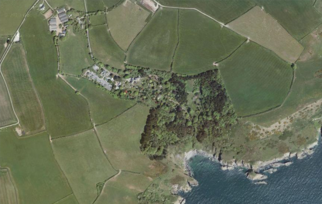 Coleton Fishacre Google Earth