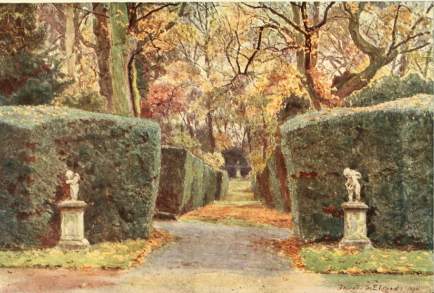 The Amorini at Melbourne, from Some English Gardens, 1904