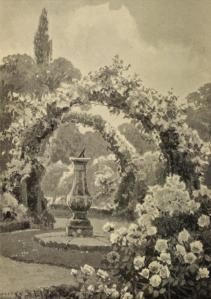 The frontispiece to A Book about Roses by Samuel Reynolds Hole, 1896 edition