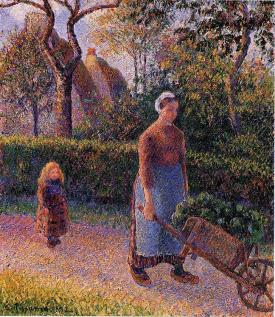 http://www.wikiart.org/en/camille-pissarro/woman-with-a-wheelbarrow