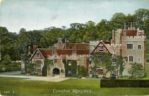 Edwardian postcard of Compton Wynyates http://dalspace.library.dal.ca/handle/10222/40418