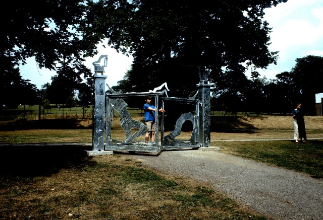 From an exhibition at Yorkshire Sculpture Park, 1984