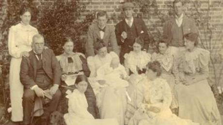 The Beale family at Standen, c.1900 National Trust