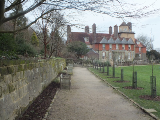 The house from the Lower Terrcae David Marsh, Feb 2014