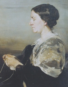 Margaret Beale, by William Nicholson, 1905 National Trust