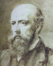 Philip Webb, by Charles Fairfax Murray, 1873 National Portrait Gallery