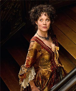 Helen McCrory as Madame Le Nôtre  Daily Telegraph 5th April 2015 photo: Rex Features