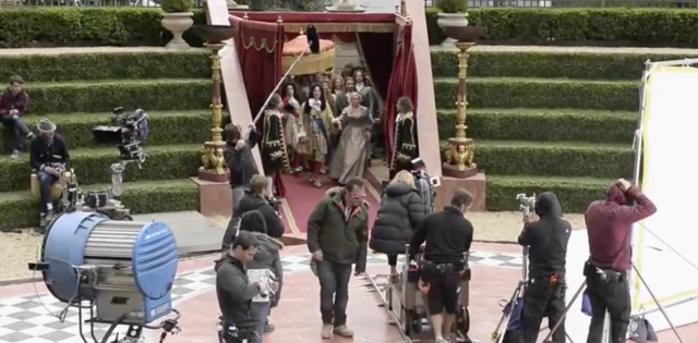 A Little Chaos Behind The Scenes:  https://www.youtube.com/watch?v=XoQG2tqO744
