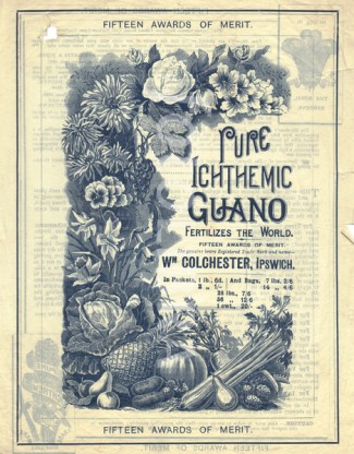 A346K5 Guano advertisement from Wm Colchester Ipswich circa 1890
