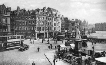 Nottingham Market, 1923