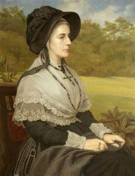 Matilda Blanche Gibbs, by Walter Horsely, 1888 NT; (c) Tyntesfield; Supplied by The Public Catalogue Foundation