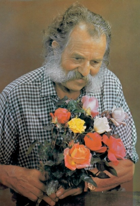 Harry Wheatcroft, cover photo from his book In Praise of Roses, 19xx